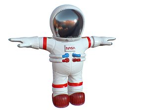 3D model Cartoon Space Suit