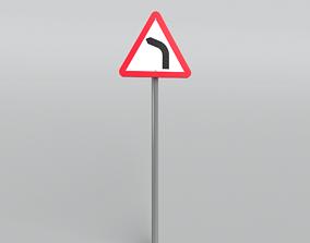 3D model Street Sign v1 002