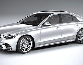 3D model Mercedes-Benz S-Class AMG 2021