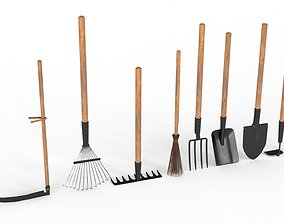 Manual Cleaning Inventory 3D asset