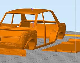 3D print model Fiat 128 berlina italian