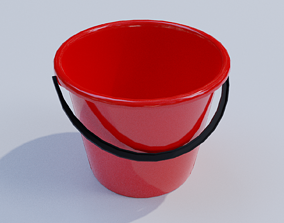 3D model household bucket
