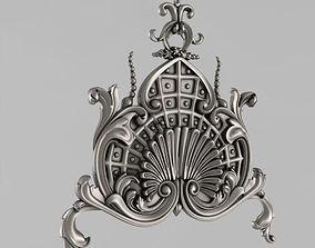 carved Central Decor 3D print model