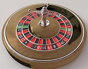 3D model fun Roulette Wheel