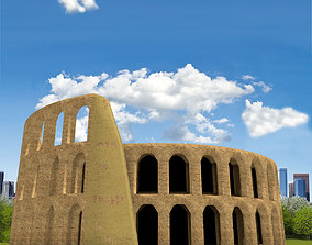 Simple Colosseum 3D model
