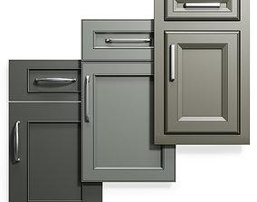 Cabinet Doors Set 15 3D model