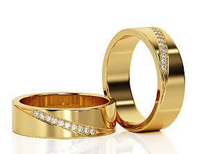 3D printable model Ring Band R BA 0025
