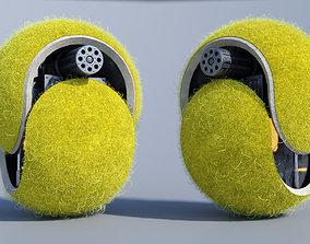 3D Tennis Ball Mech PBR