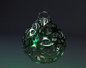 christmas ball 3D print model new
