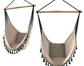 Hammock Provincial White 3D model
