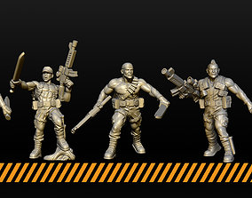 Jungle Fighters 3D printable model