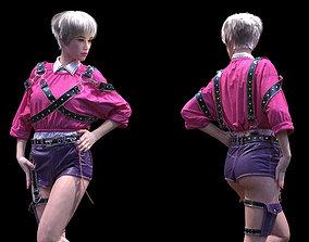 3D model Womens clothing Marvelous Designer