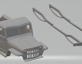 Jeep Willys Pick Up 1946 Printable Body Car