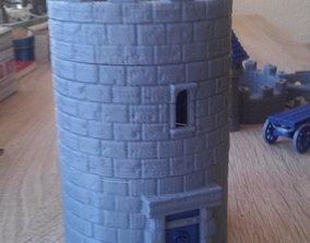 3D printable model Modular Watchtower - WarGames -