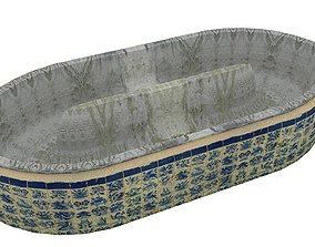 3D model Old Swimming Pool 01 12