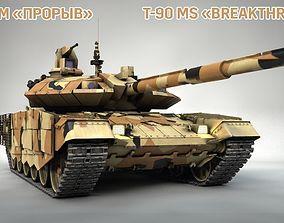 3D T-90 AM