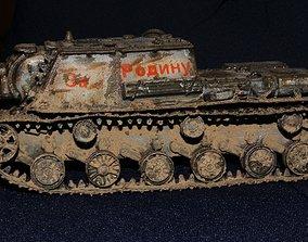 SU 152 tanks 3D print model
