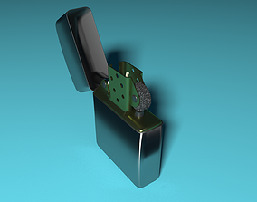3D model cigarette Cigarette lighter