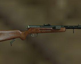 3D model Bergmanns MP35 Submachine Gun