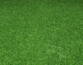 3D ground grass tile 25