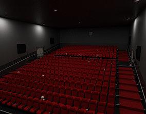 Cinema - Low Poly 3D model