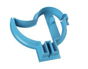 COOKIE CUTTER BIRD 3D printable model