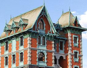 3D estate Victorian House