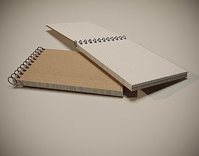 3D notebook Sketchbook