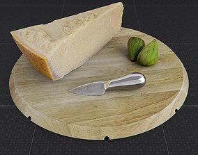 3D Parmesan Cheese Set - Parmigiano Reggiano Set
