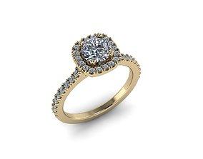 jewelry 3D printable model Diamond Jewelry Ring