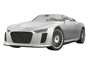 Audi E-Tron Spyder 3D