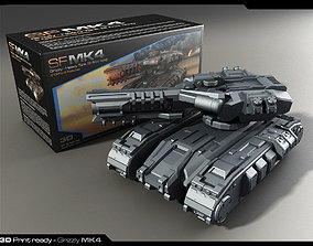MK4-Heavy Tank 3D Print