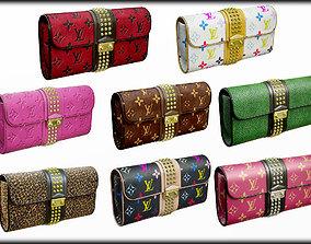 3D Fashion Woman Handbag Louis Vuitton