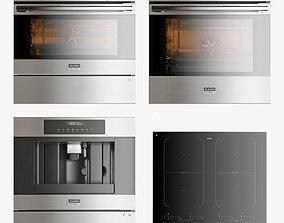 3D model Asko set of kitchen appliances 001