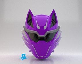 3D print model Mask Gekiranger Geki Violet
