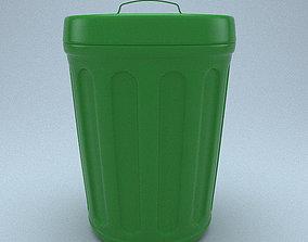Trash Can 3D rubbish