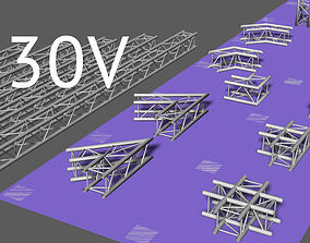 Prolyte H30V square trusses 3D