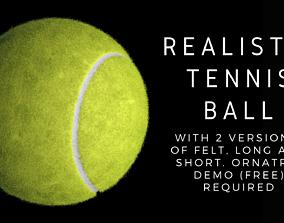 3D Realistic Tennis Ball