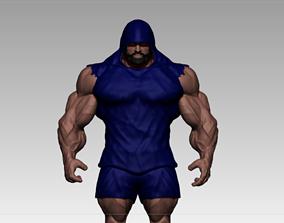 3D asset realtime bodybuilder motivation