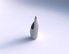 Vase Tsunami with horizontal sections 3D printable model