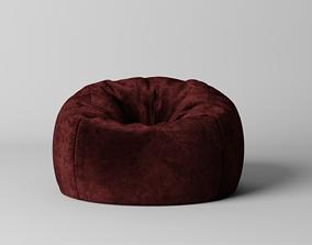 architecture 3D model Bean bag