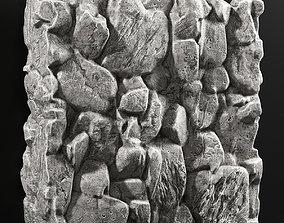 3D Slab stone rock granite huge n3