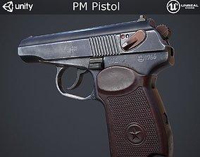 PM Pistol 3D model