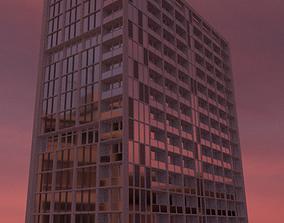 free Blender 3D Dubai Hotel Building Good quality
