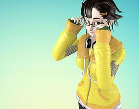 Game Character - Otohime 3D model