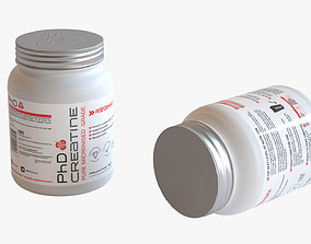 3D model PHD Creatine Monohydrate