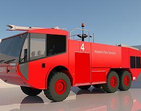 AIRPORT FIRE SERVISE TRUCK 3D model
