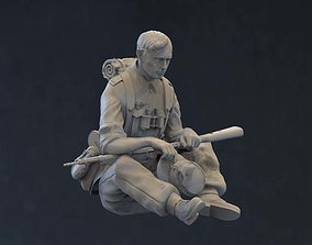 3D printable model German soldier miniatures