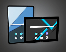 Touch Tablet - PBR Game Ready 3D model
