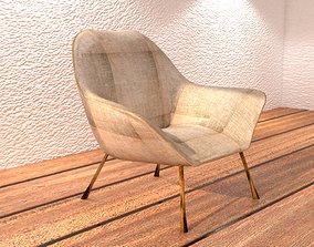 modern 3D Comfortable Chair